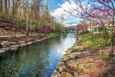 Photograph - Crystal Bridges Museum River Trail  - Bentonville Arkansas by Gregory Ballos