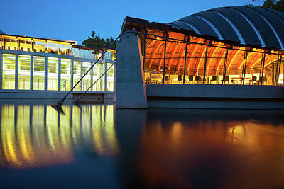 Photograph - Crystal Bridges Reflections - Northwest Arkansas by Gregory Ballos