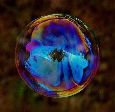 Crystal Bubble Art Print by Marilynne Bull