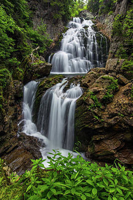 Photograph - Crystal Cascade Summer by Chris Whiton