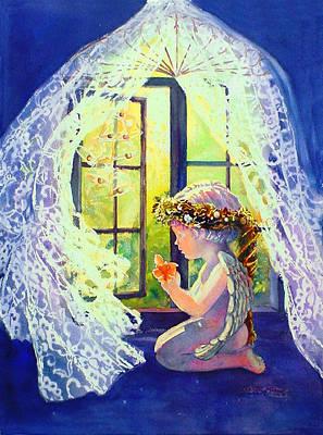Crystal Chimes Art Print by Estela Robles