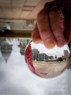 Photograph - Crystal City by Deborah Klubertanz