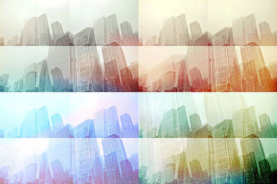 Citysape Photograph - Crystal City by Rhianna Mercier