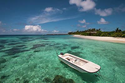 Photograph - Crystal Clarity. Maldives by Jenny Rainbow