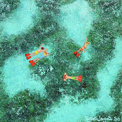 Painting - Crystal Clear Waters by Elizabeth Langreiter