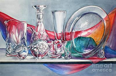 Painting - Crystal Clear In Color No 3 by Jane Loveall