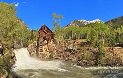 Photograph - Crystal Colorado Dead Horse Mill by Adam Jewell