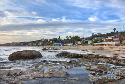 Crystal Cove Beach Cottages Art Print