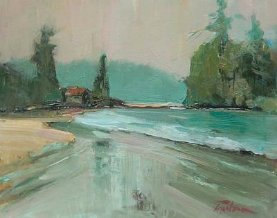 Crystal Cove Beach Art Print by Ron Wilson
