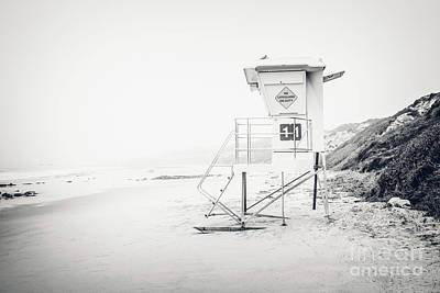 Eleven Photograph - Crystal Cove Lifeguard Tower 11 In Laguna Beach by Paul Velgos