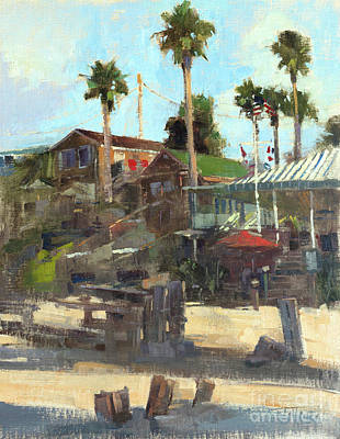 Wall Art - Painting - Crystal Cove by Patrick Saunders
