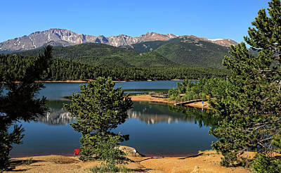 Photograph - Crystal Creek Reservoir 1 by Judy Vincent