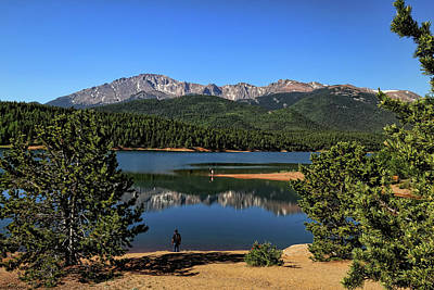 Photograph - Crystal Creek Reservoir 2 by Judy Vincent