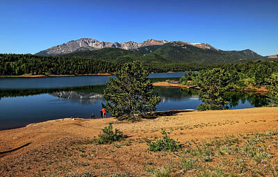 Photograph - Crystal Creek Reservoir 3 by Judy Vincent
