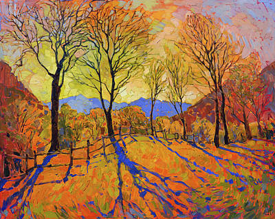 Painting - Crystal Dawn by Erin Hanson