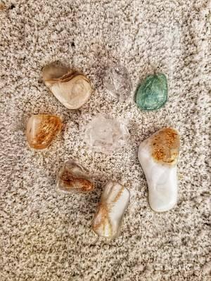 Photograph - Crystal Energy by Rachel Hannah