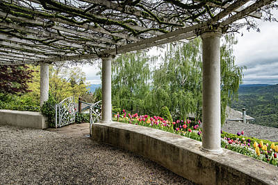 Photograph - Crystal Hermitage Colonnade 5869 by Janis Knight