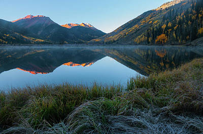 Photograph - Crystal Lake - 0577 by Jerry Owens
