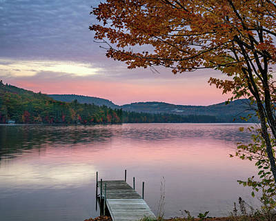 Photograph - Crystal Lake Sunrise by Darylann Leonard Photography