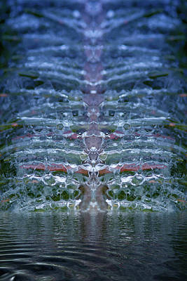 Photograph - Crystal Lattice 2 by WB Johnston