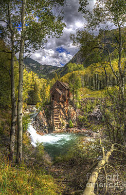 Photograph - Crystal Mill 10 by ELDavis Photography