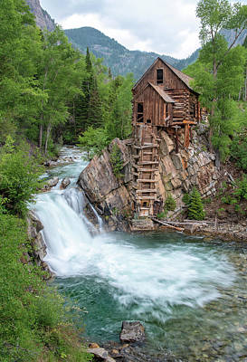 Crystal Mill Colorado Art Print