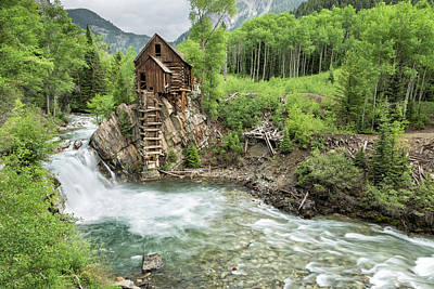 Photograph - Crystal Mill I by Denise Bush