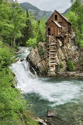 Photograph - Crystal Mill II by Denise Bush