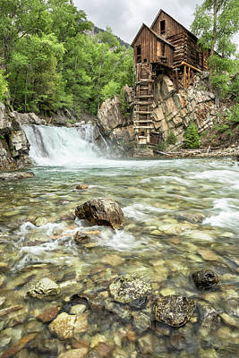 Photograph - Crystal Mill 3 by Denise Bush