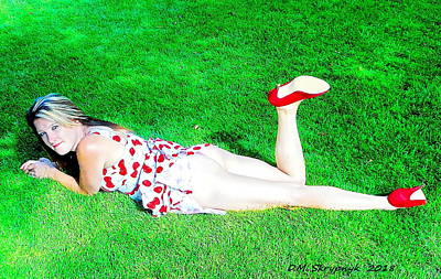 Photograph - Crystal On The Lawn At Butchart's by David Skrypnyk