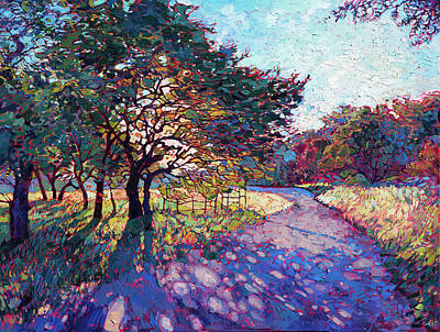 Painting - Crystal Path by Erin Hanson
