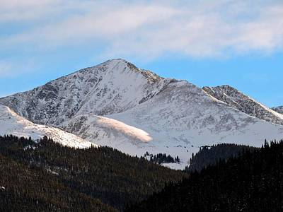 Tenmile Range Photograph - Crystal Peak by Connor Beekman