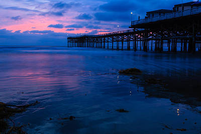 Photograph - Crystal Pier 2 by Ben Graham