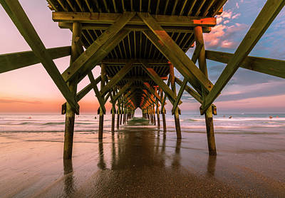 Photograph - Crystal Pier At Sunset by Ranjay Mitra