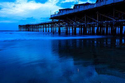 Photograph - Crystal Pier by Ben Graham