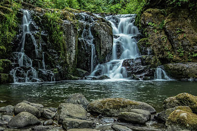 Photograph - Crystal Pool Falls by Joe Hudspeth