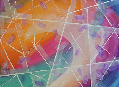 Painting - Crystal Prism by Deb Breton
