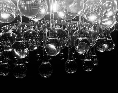 Digital Art - Crystal Reflections by Michael Hurwitz