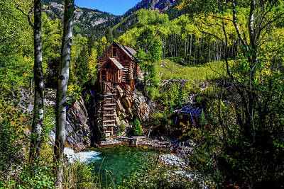 Photograph - Crystal River Mill, Colorado by Marilyn Burton