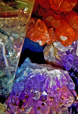 Photograph - Crystal Secrets by Lynda Lehmann