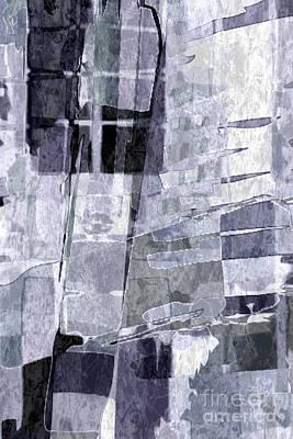 Painting - Crystal Silver by Tlynn Brentnall