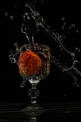 Photograph - Crystal Splash by Ramabhadran Thirupattur