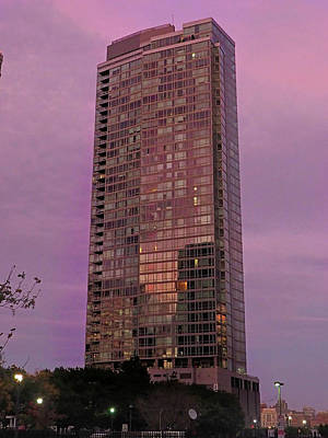 Photograph - Crystal Skyscraper Sunset by Farol Tomson