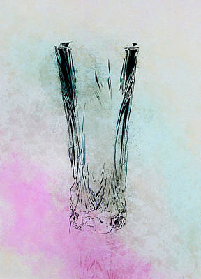 Photograph - Crystal Vase by Reynaldo Williams