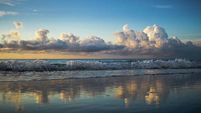 Photograph - Crystal Wave Delray Beach Florida by Lawrence S Richardson Jr