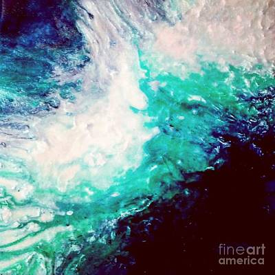 Painting - Crystal Wave16 by Kumiko Mayer