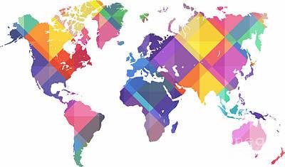 Crystal World Map Original