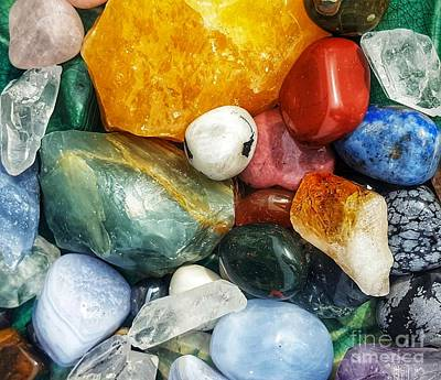 Photograph - Crystal Zen 2 by Rachel Hannah