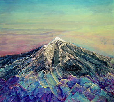 Crystalline Mountain Original by Jerod Kytah