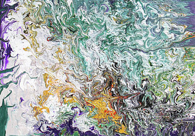 Painting - Crystallize by Ralph White
